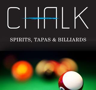 Chalk Lounge, Spirits, Tapas, Billiards